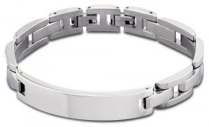 Lotus Style Armband Edelstahl silberfarbig LS1511-2/1 Gravurplatte Herrenarmband