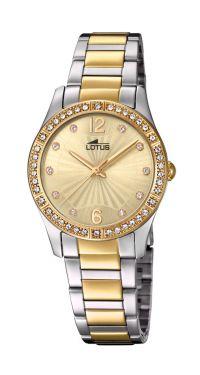 Damenuhr Lotus Armbanduhr Edelstahl silber rose 18180/2 Datum