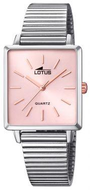 Damenuhr Lotus Trendy Armbanduhr Edelstahlband silber rose 18142/2