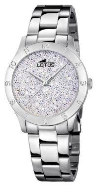 Lotus Armbanduhr Damenuhr 15032/2 Edelstahlarmbanduhr silber