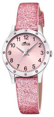 Kinderuhr Lotus Uhr 15945/a schwarz grau Leder Armbanduhr