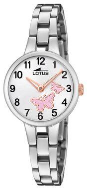 Lotus Teeny Armbanduhr 15828/1 Kleeblatt Edelstahlband