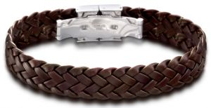 Lotus Style Herren Armband LS1206/2/2 Lederarmband braun