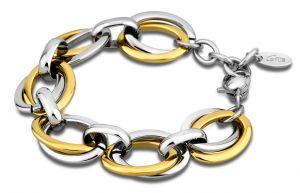 Lotus Style Armband LS1616-2/3 Edelstahl silber rosegolden Bicolor