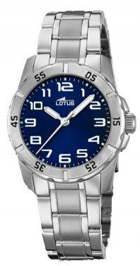 Lotus Uhr Junior 15651/E Jugend Armbanduhr Lederband