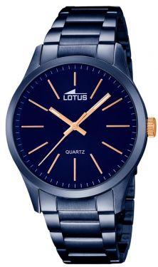 Herrenuhr Lotus Herren Armbanduhr 18163/2 blau