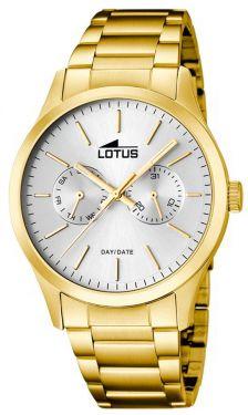 Herrenuhr Lotus Armbanduhr 15955/1 Herren Uhr gold silber