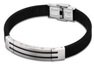 Männerarmband Lotus Style Armband LS1521-2/2 Edelstahl Kautschuk 21 cm