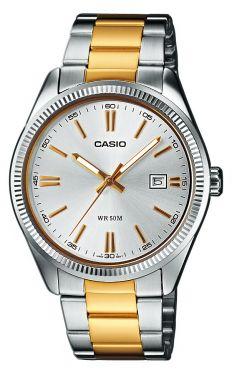 Casio Uhr Herrenuhr MTP-1302PSG-7AVEF Armbanduhr Bicolor