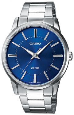 Casio Uhr MTP-1303PD-2AVEF blau Herrenuhr Armbanduhr