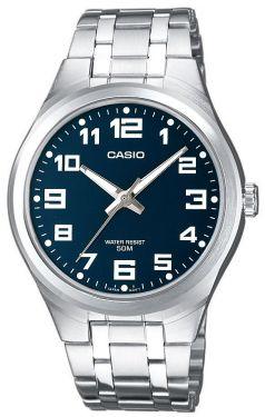 Casio Uhr Herrenuhr MTP-1310PD-2BVEF blau Armbanduhr