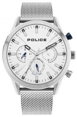 Police Armbanduhr P14383JS-03M Herren Uhr Edelstahl Multifunktion