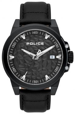 Police Totenkopf Armbanduhr P14385JSB-57 Black