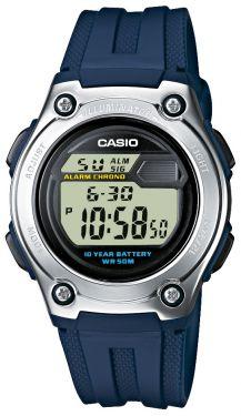 Casio Digitaluhr Uhr W-211-2AVES blau