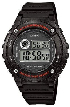Casio Herren-Armbanduhr Collection Uhr W-216H-1AVEF Digitaluhr