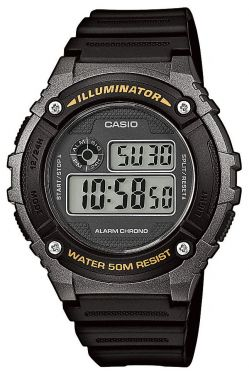 Casio Herren-Armbanduhr Collection Uhr W-216H-1BVEF Digitaluhr