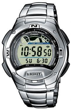 Casio Uhr Digitaluhr W-753D-1AVES Mondphasenanzeige