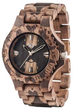 Wewood Holzuhr Damenuhr Armbanduhr DATE CHOCOLATE
