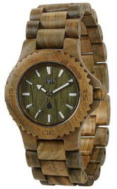 Wewood Holzuhr Damenuhr Armbanduhr DATE ARMY