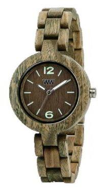 Wewood Holzuhr Damenuhr Mimosa Army Armbanduhr WW14002
