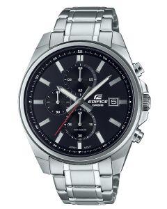 Casio Herrenuhr Edifice Armbanduhr EFV-610D-1AVUEF Edelstahlarmband