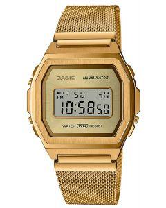 Casio Digitaluhr Armbanduhr Vintage ICONIC A1000MG-9EF