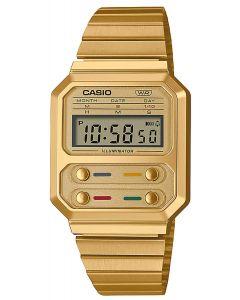 Casio Digitaluhr Armbanduhr Vintage A100WEG-9AEF