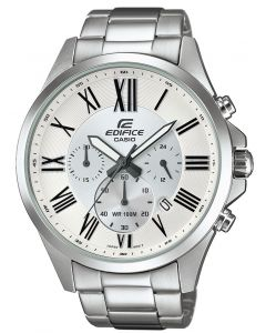 Casio Herrenuhr Edifice Armbanduhr EFR-543D-1A4VUEF Edelstahl
