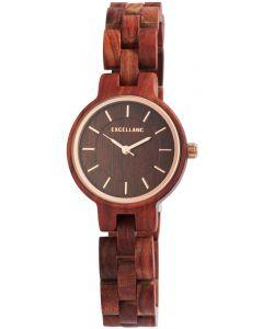 Excellanc Damen Uhr Flower Power Armbanduhr Keep Calm and Carry on