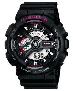 Casio Uhr G-Shock Uhr GA-110-1AER schwarz Digital-Analog Uhr