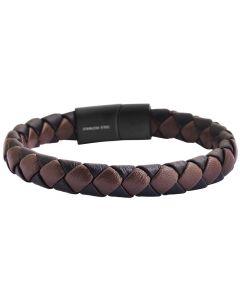 Damen Armband 19 cm silber-farbig Magentschließe