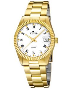 Lotus By Festina Herrenuhr 15799/1 Herren-Armbanduhr Gold PVD Datum