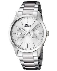 Herrenuhr Lotus Uhr 15954/1 Herren Uhr Edelstahl Armbanduhr silber