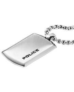 Police Purity Kette mit Anhänger Platte PJ24920PSS-01 Edelstahl poliert
