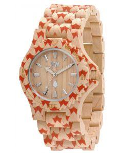 Wewood Holzuhr Damenuhr Armbanduhr DATE BEIGE