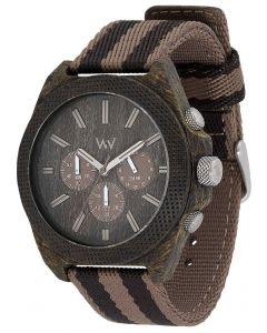 Wewood Uhr Holzuhr Alpha Army Armbanduhr WW08004 Herrenuhr