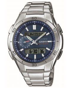 Casio Herren Funkuhr WVA-M650D-2AER Solar Armbanduhr